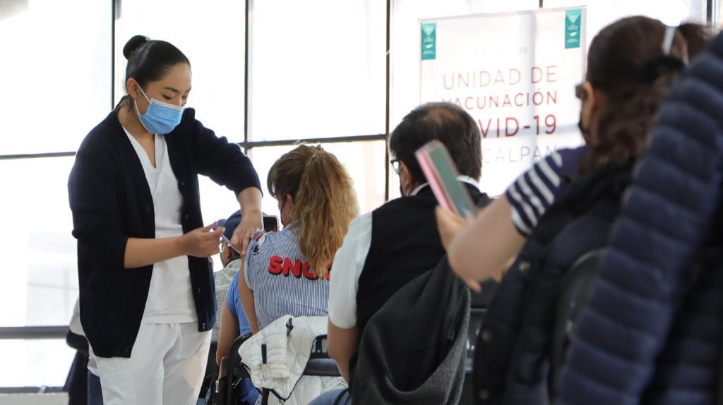 Vacunan en Naucalpan vacunan en Naucalpan a 547 mil personas